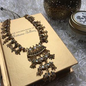 Indian/Pakistani/Desi Gold Beadwork Necklace